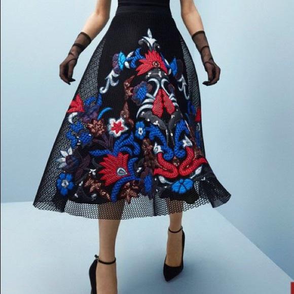 d594dce49547 Sachin + Babi Dresses | Sachin Babi Noir Jomei Mesh Skirt And Top ...